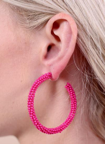 Anders Hot Pink Earring