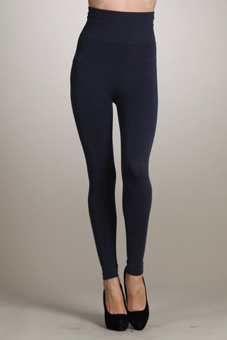 High Waist Legging, Ink