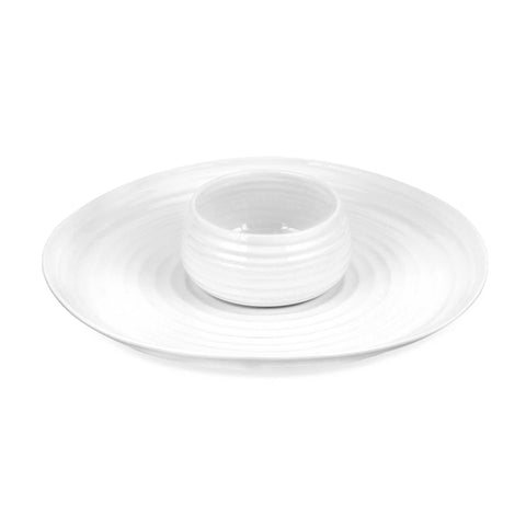 Sophie Conran Chip & Dip Set, White G/B