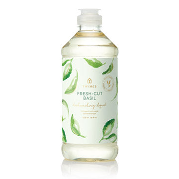 Thymes Fresh-Cut Basil Dish Liquid
