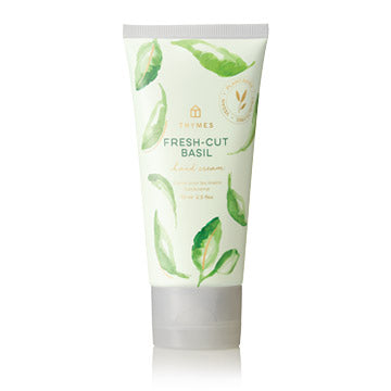 Thymes Fresh-Cut Basil Hand Cream