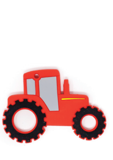 Tractor Silicone Teether