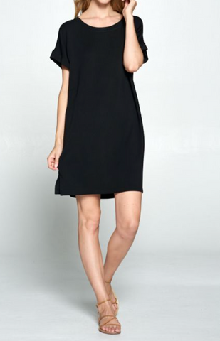 Comfy Basic Tee Dress
