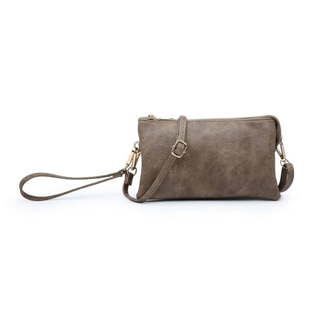 The Riley Crossbody - Chocolate