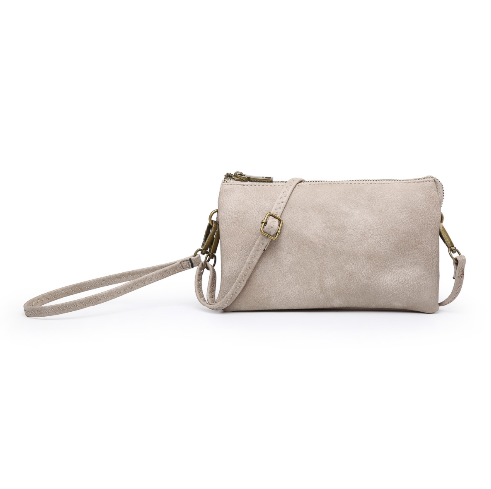 The Riley Crossbody - Grey