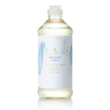 Thymes Washed Linen Dish Liquid