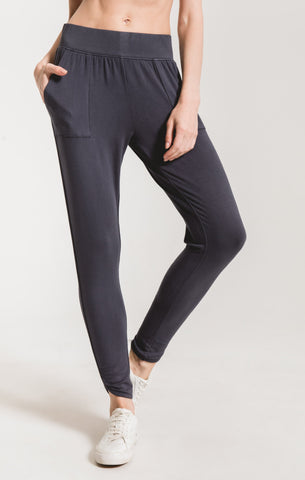 The Premium Teardrop Pant - Ombre Blue