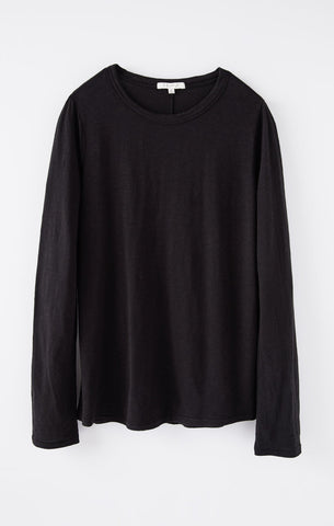 Everyday Brushed L/S Top - Black