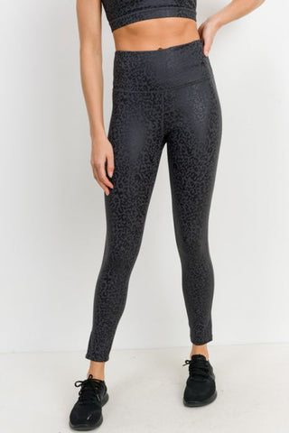 Foiled Leopard Legging