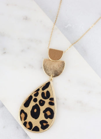 Beks Leopard Necklace