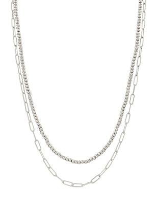 The Dainty Chain Necklace - Silver