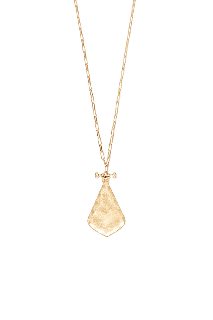 Denise Necklace - Worn Gold