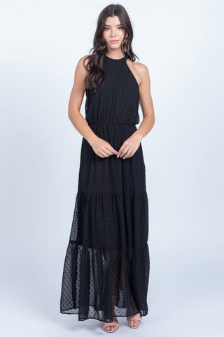 The Ruffle Maxi Dress