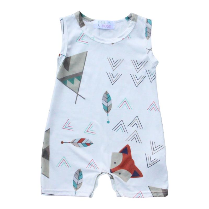 Fox Hideout Shorty Romper