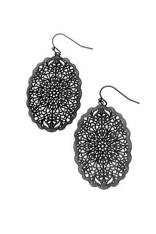 Gabby Earrings - Black