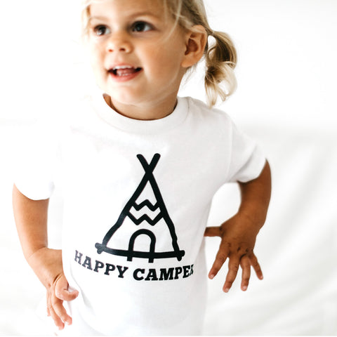 Happy Camper Toddler Tee