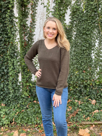 The Dirty Olive Sweater