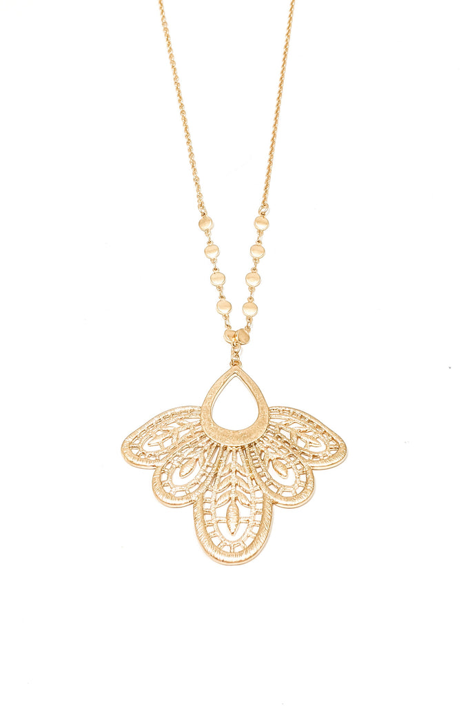 Jemima Necklace - Gold
