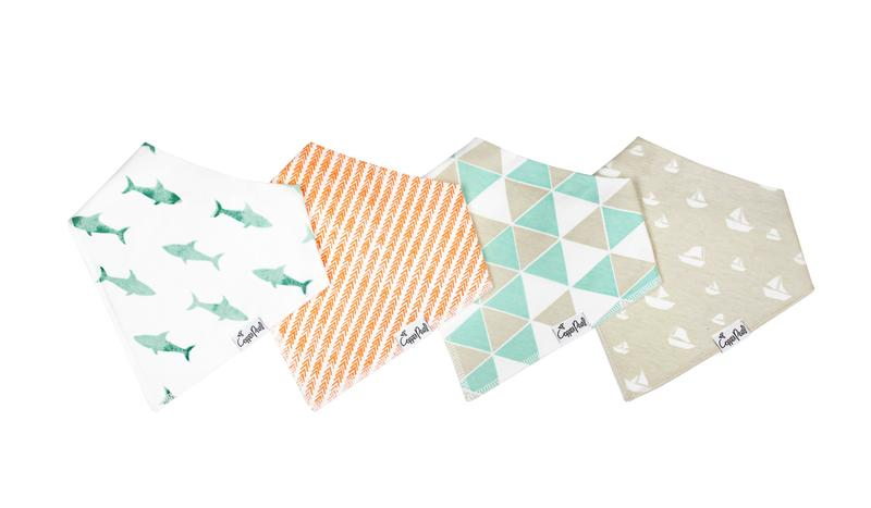 Bandana Bib Set, Pacific