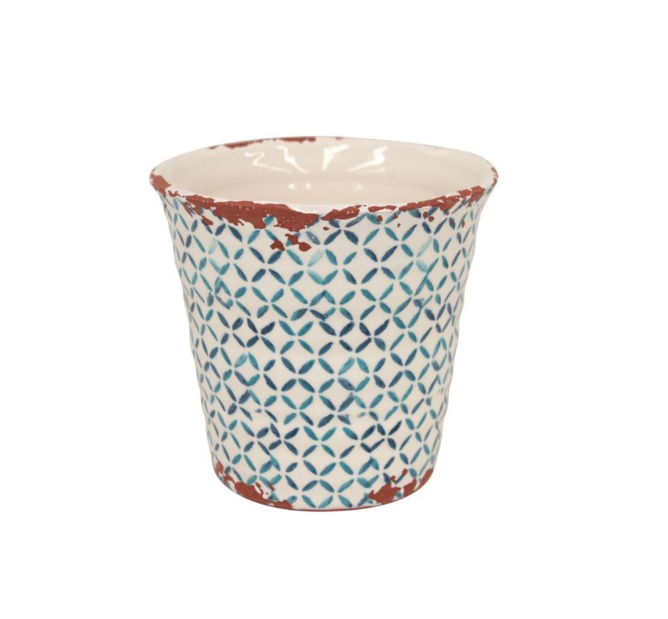 Piastrella Small Flower Pot - S/J