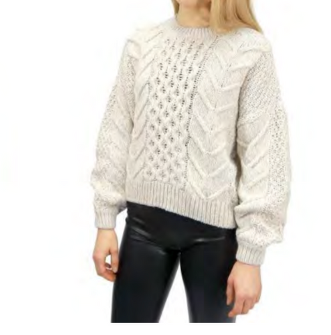 Retro Knitted Sweater