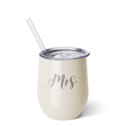 Mrs Stemless Wine Cup