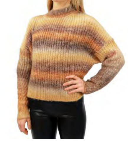 Toffee Square Sweater