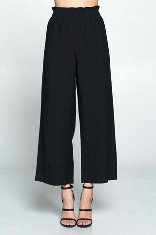 The Paper Bag Pant - Black