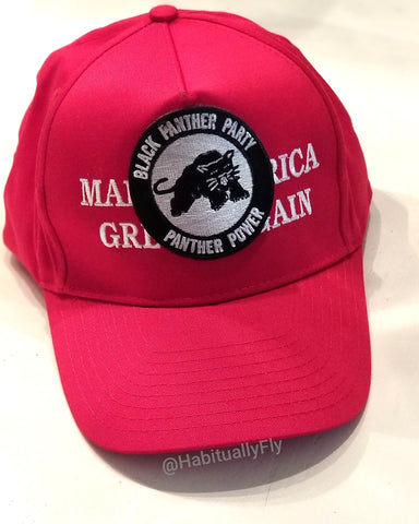 Black Panthers Made America Great- MAGA hat