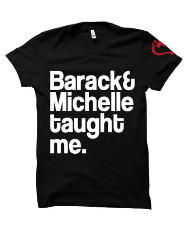 Barack and Michelle Obama taught me.