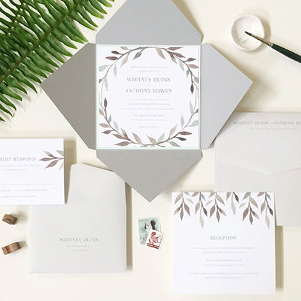 Schedule An Appointment With One Of Our Design Coordinators To Put Together The Perfect Invitation Suite