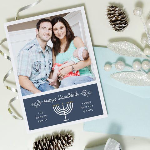 Photo Hanukkah Cards