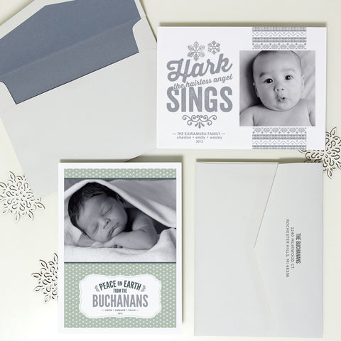 Baby Photo Holiday Cards