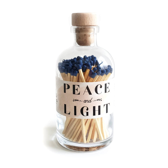 Peace & Light Vintage Apothecary Matches