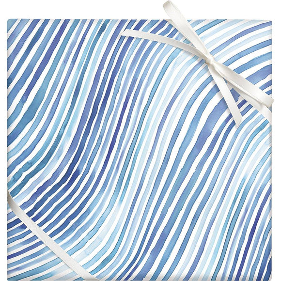Watercolor Ripples Wrapping Sheet