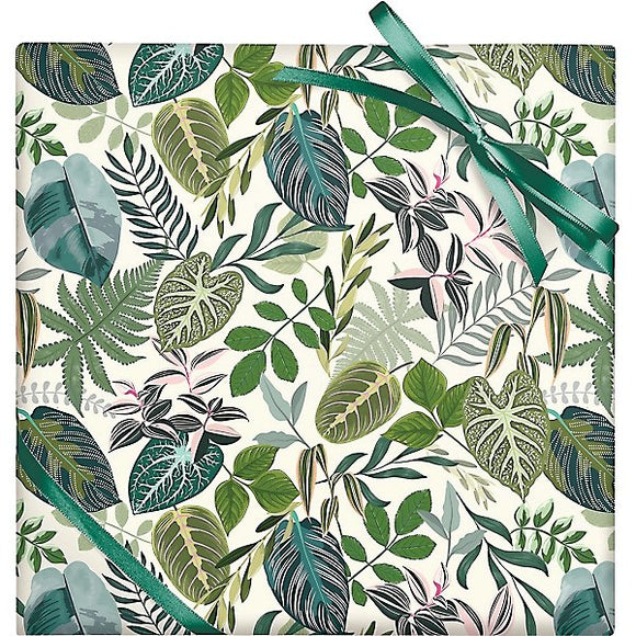 Leafy Greens Gift Wrapping Sheet