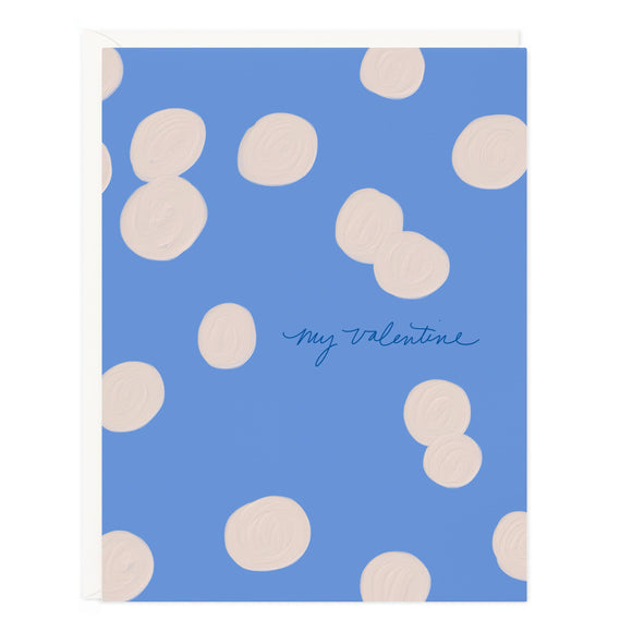 My Valentine Dots Card