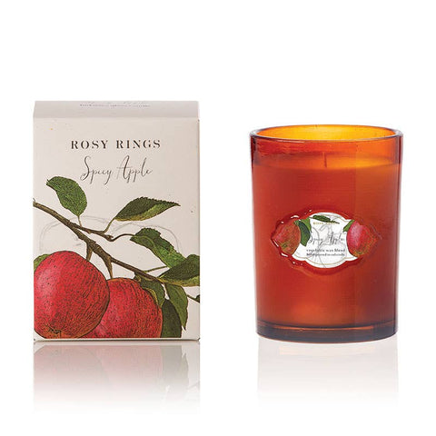 Spicy Apple Signature Glass Candle