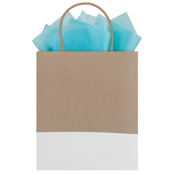 Purist Dipped Kraft Tote Gift Bag