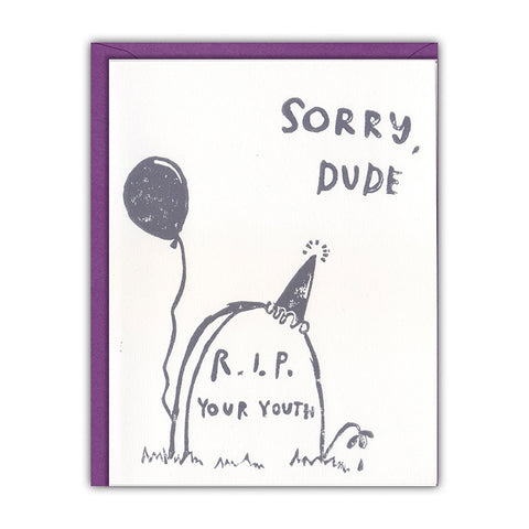 R.I.P. Birthday Card