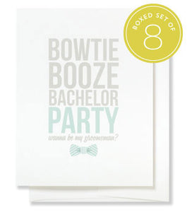 Bow Tie Greetings Wedding Boxed Cards