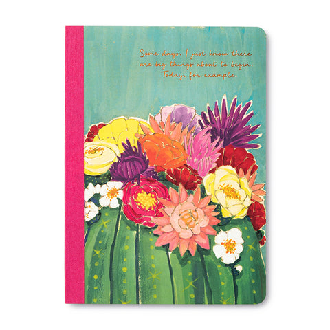 Her Words Notebook - Flowers