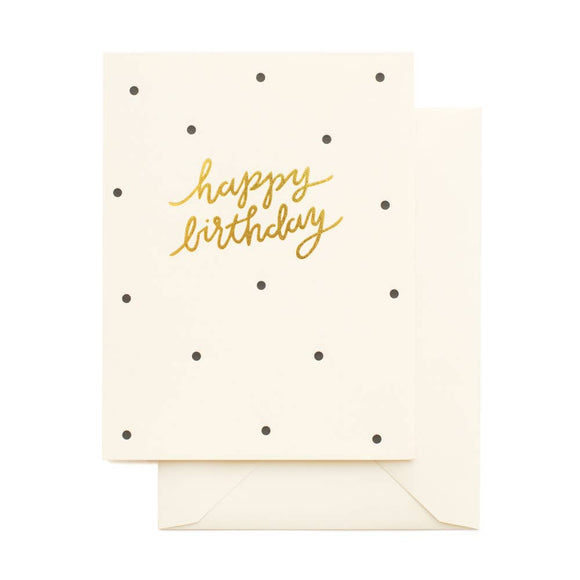 Dotty Birthday Card