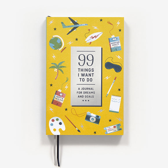 99 Things I Want to Do (Guided Journal)