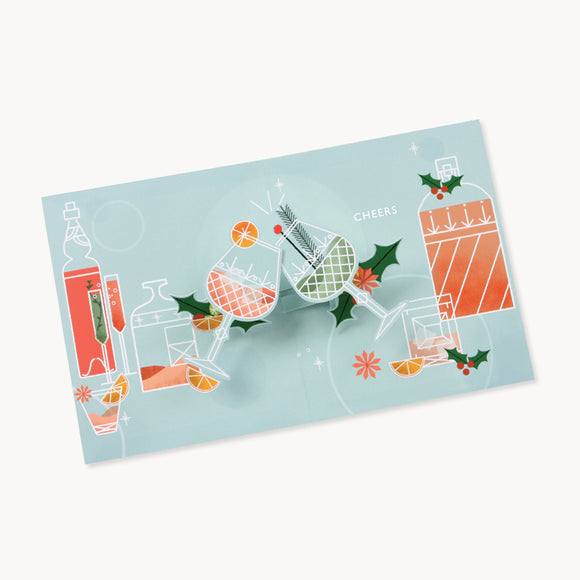 Holiday Spirits Pop-Up Card