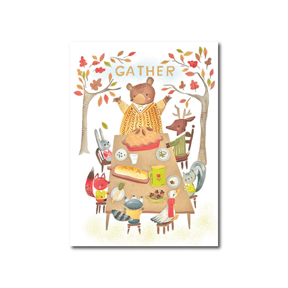Gather Thanksgiving Card
