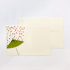 Parasol Printable Shower Invitations
