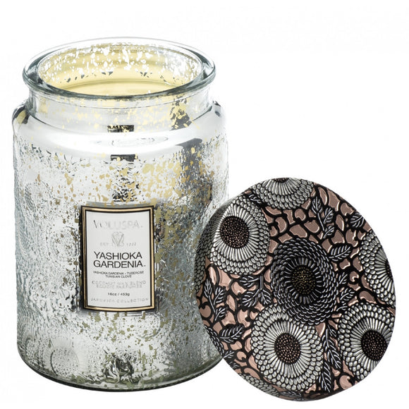 Yashioka Gardenia Large Jar Candle