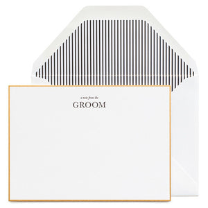 A Note From the Groom Boxed Notes