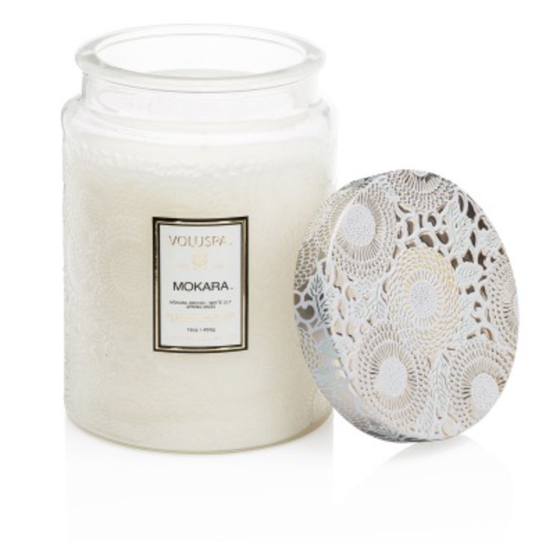 Mokara Large Jar Candle